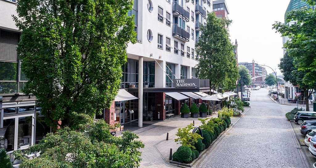 THE MADISON Hotel Hamburg - THE MADISON Hotel Hamburg