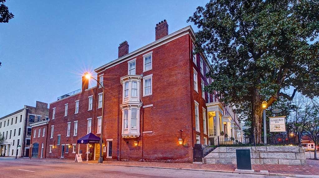 Linden Row Inn - Vue extérieure