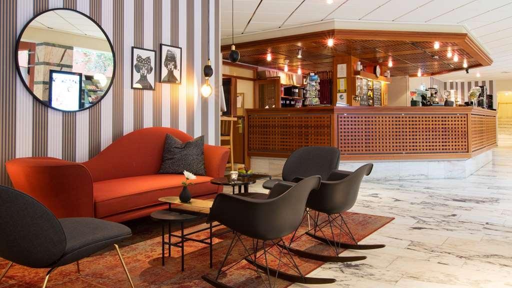 Best Western Plus Vasterviks Stadshotell - Lobby, Best Western Plus Västerviks Stadshotell