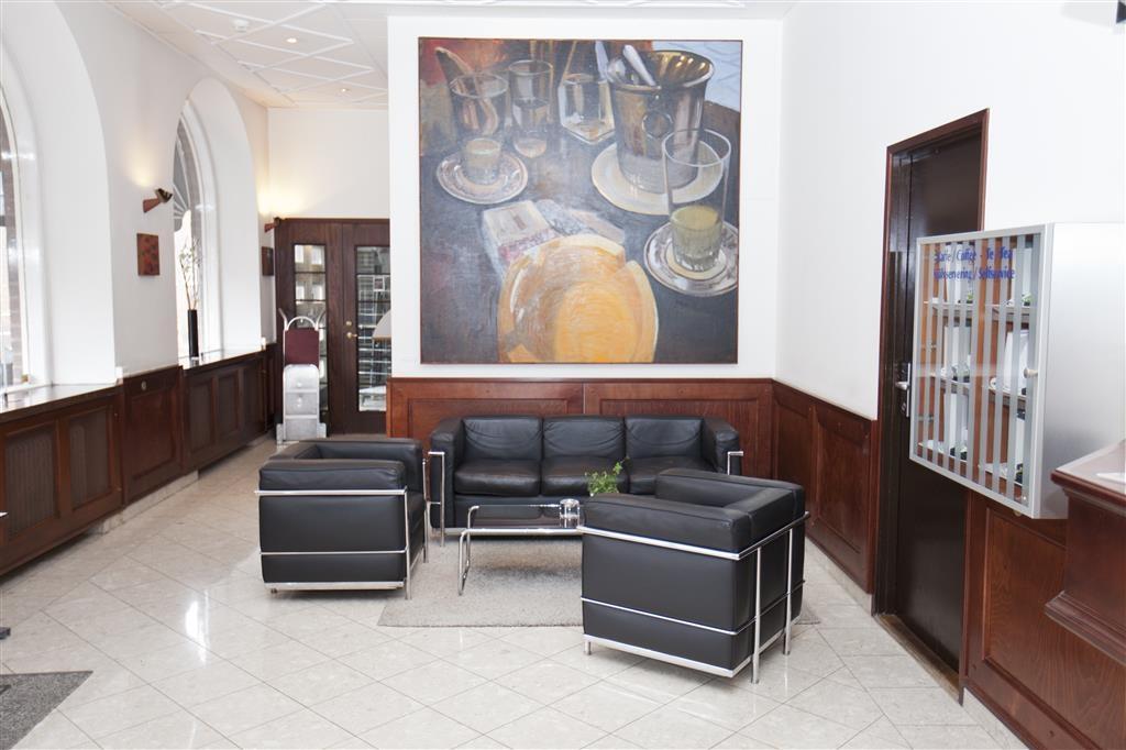 Best Western Plus Hotell Boras - Vista del vestíbulo