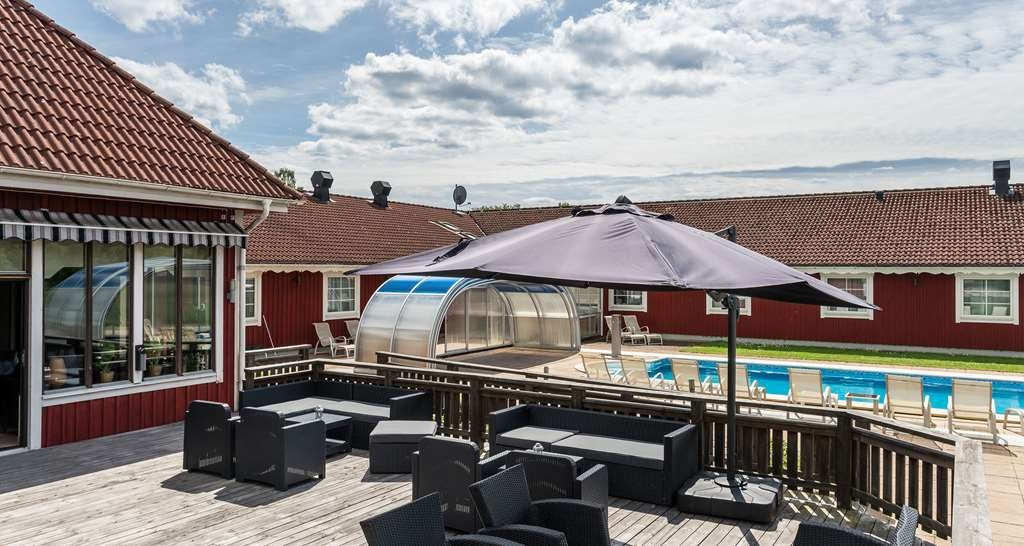 Best Western Hotel Vrigstad - Poolansicht