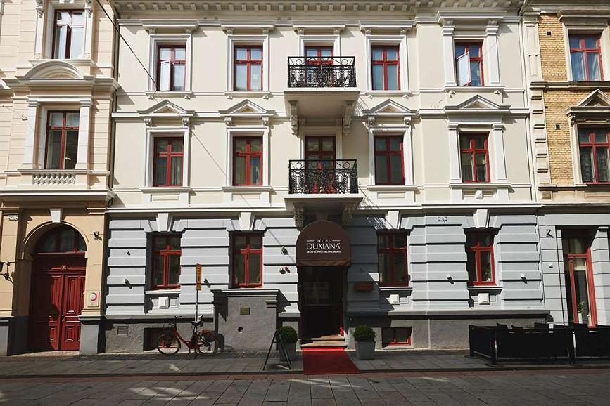 Best Western Hotel Duxiana - Aussenansicht