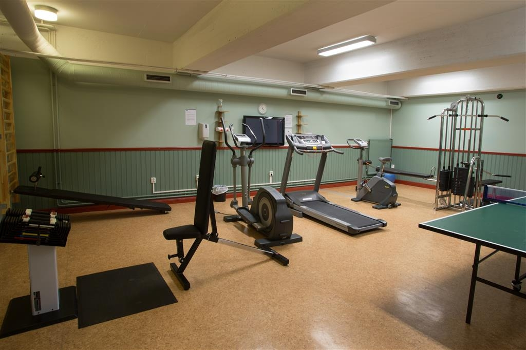 Best Western Hotell SoderH - fitnessraum