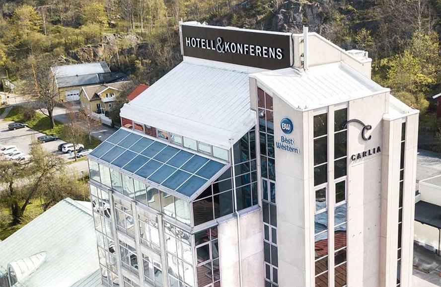 Best Western Hotel Carlia - Aussenansicht