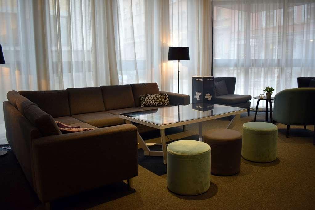 Best Western Kom Hotel Stockholm - Vista del vestíbulo