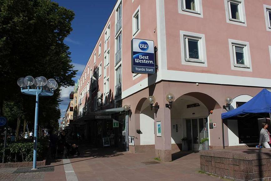 Best Western Hotel Tranas Statt - Vista exterior