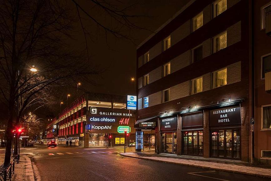 Best Western Hotel City Gavle - Aussenansicht