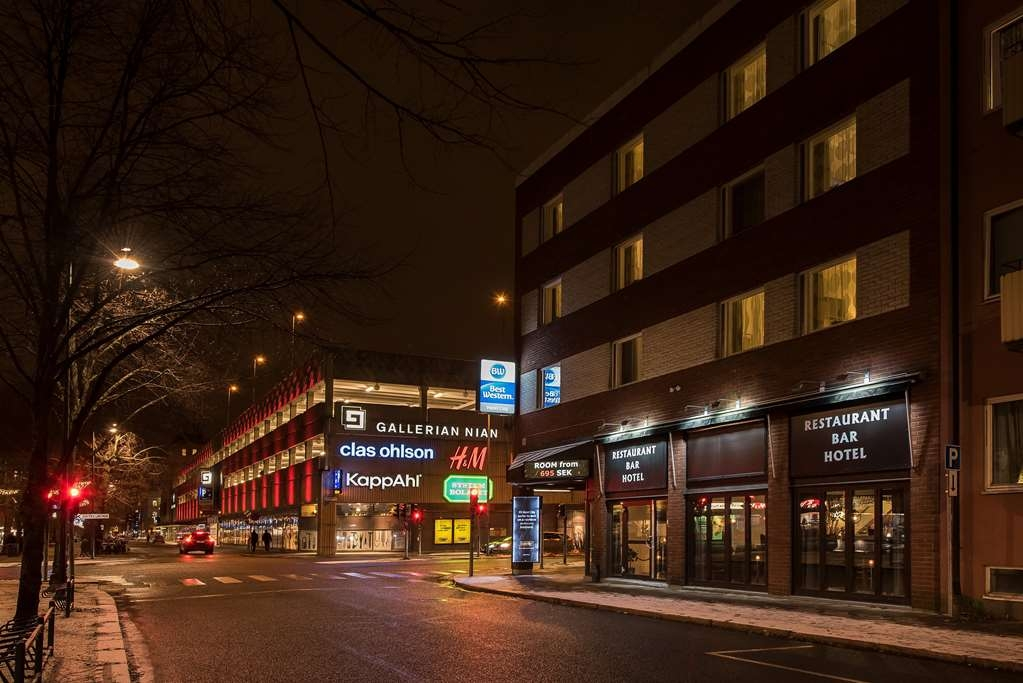 Best Western Hotel City Gavle - Facciata dell'albergo