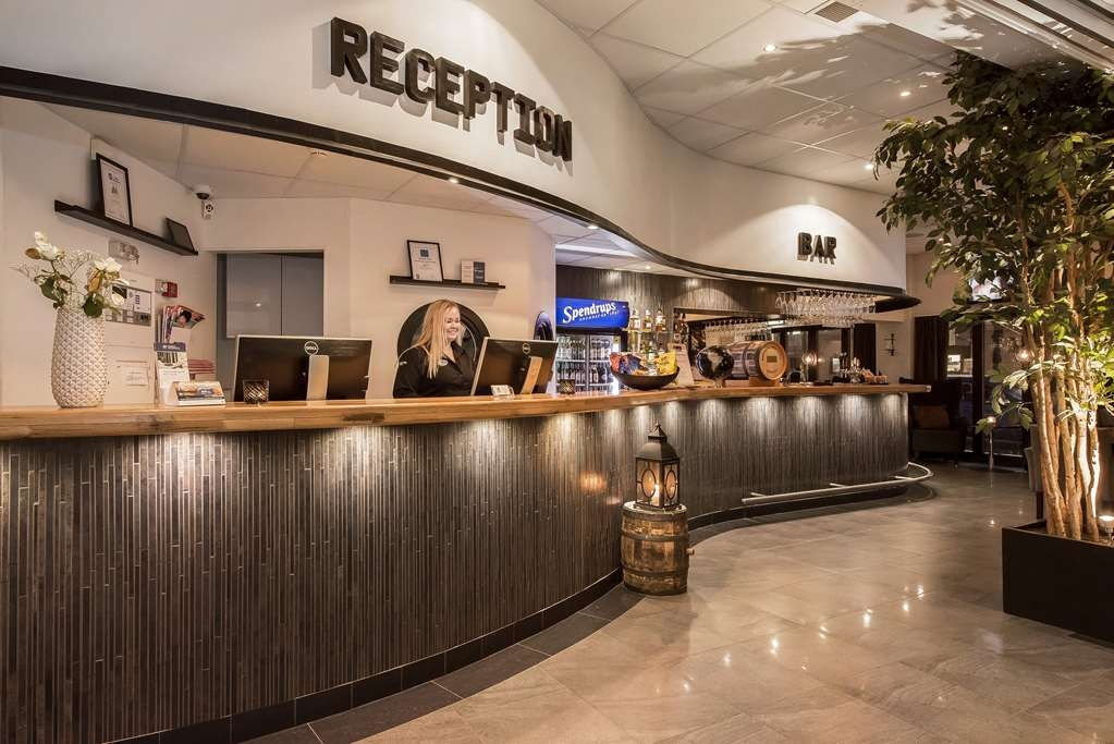Best Western Hotel City Gavle - Lobbyansicht
