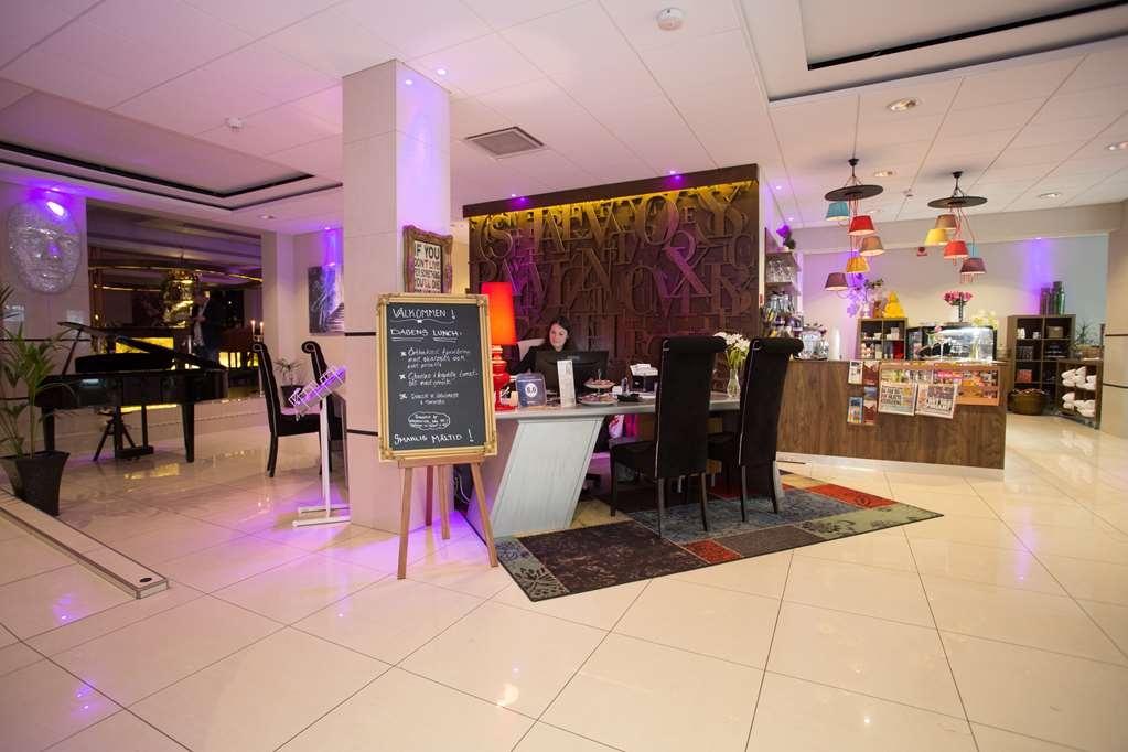 Best Western Plus Savoy Lulea - Vue du lobby