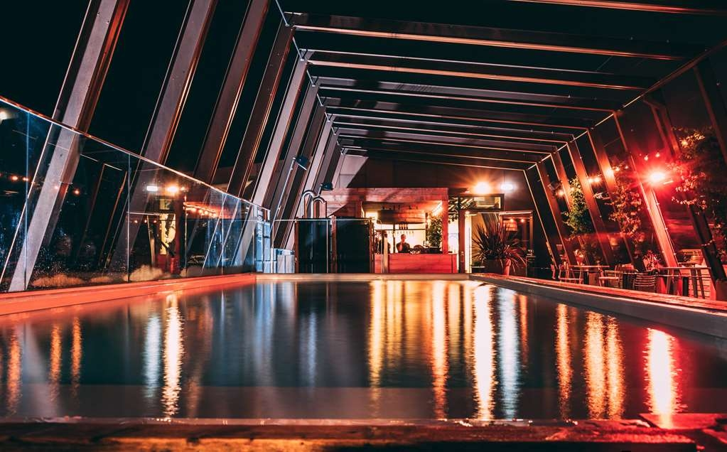 The Winery Hotel, BW Premier Collection - Outdoor pool located on Winery Rooftop. Photo credit: Joel Mohag