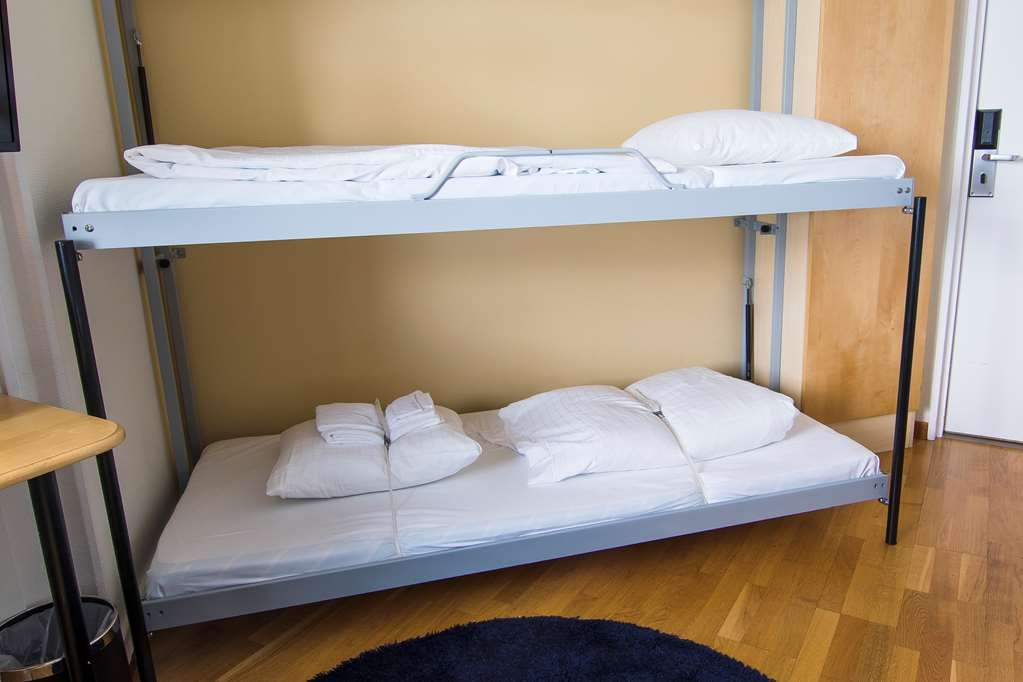 Best Western Eurostop Orebro - Bunkbeds in Family Rooms and Twin Rooms