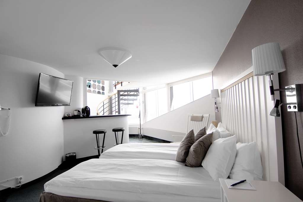 Best Western Eurostop Orebro - Our two floor top suite with a spectacular wiew.