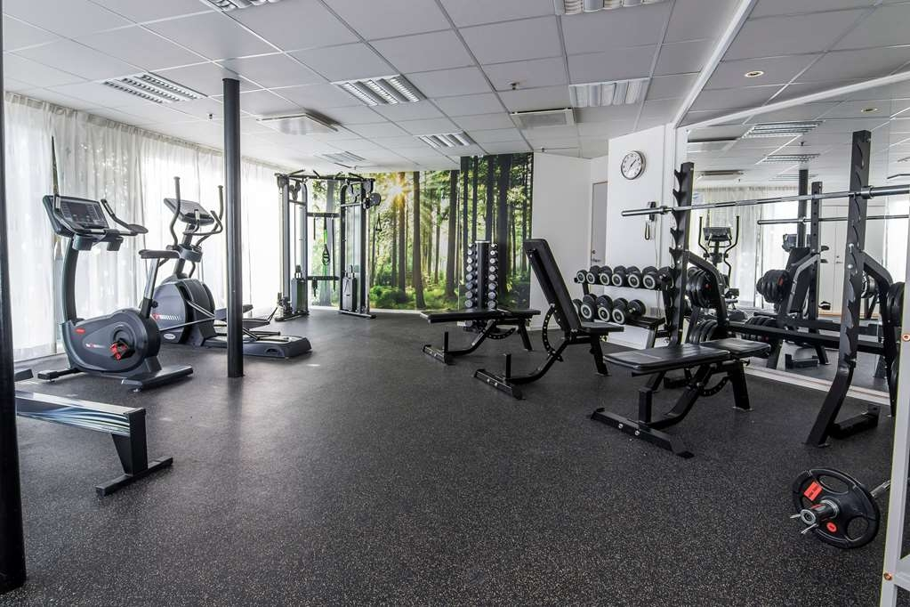 Best Western Eurostop Orebro - Fitness room open 24/7.