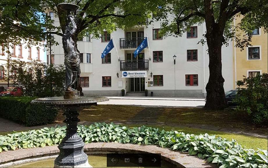 Best Western Hotel Park Astoria - Area esterna