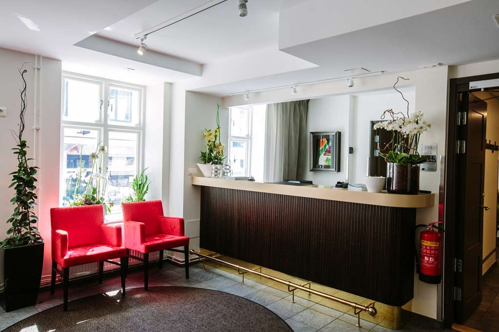 Best Western Plus Hotell Nordic Lund - Reception Area