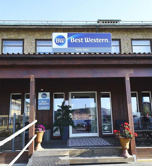 Best Western Hotel Arctic Eden - Aussenansicht