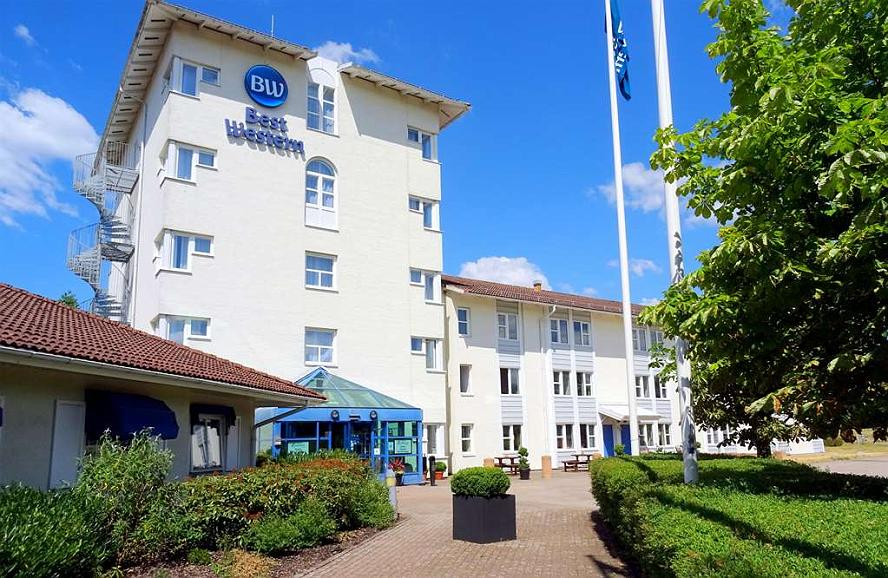 Best Western Hotell Erikslund - Façade