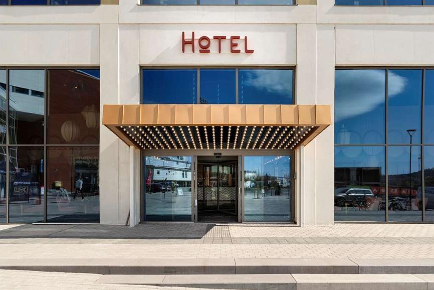 Best Western Plus Aby Hotel - Aussenansicht