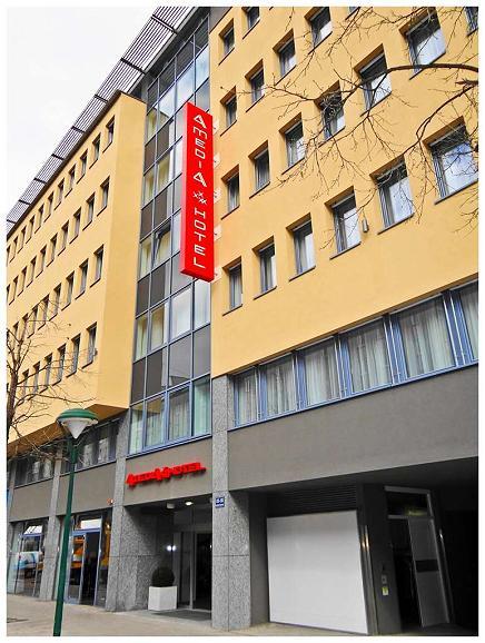Best Western Plus Amedia Wien - Aussenansicht