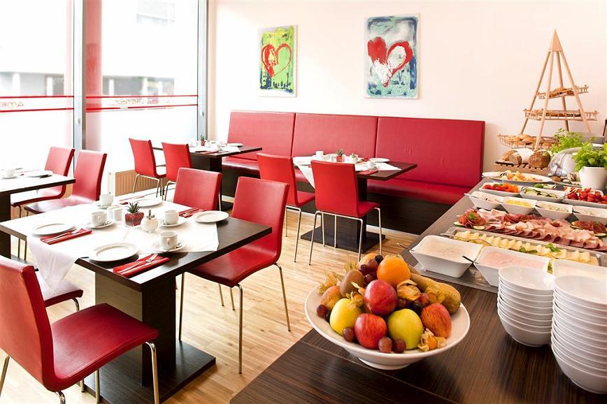 Best Western Plus Plaza Hotel Graz - Salle de petit déjeuner