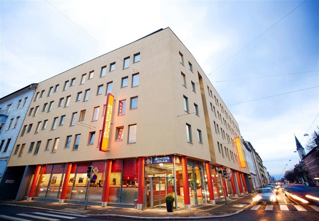 Best Western Plus Amedia Graz - façade extérieure
