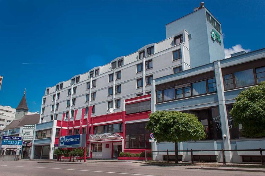 Best Western Plaza Hotel Wels - Aussenansicht