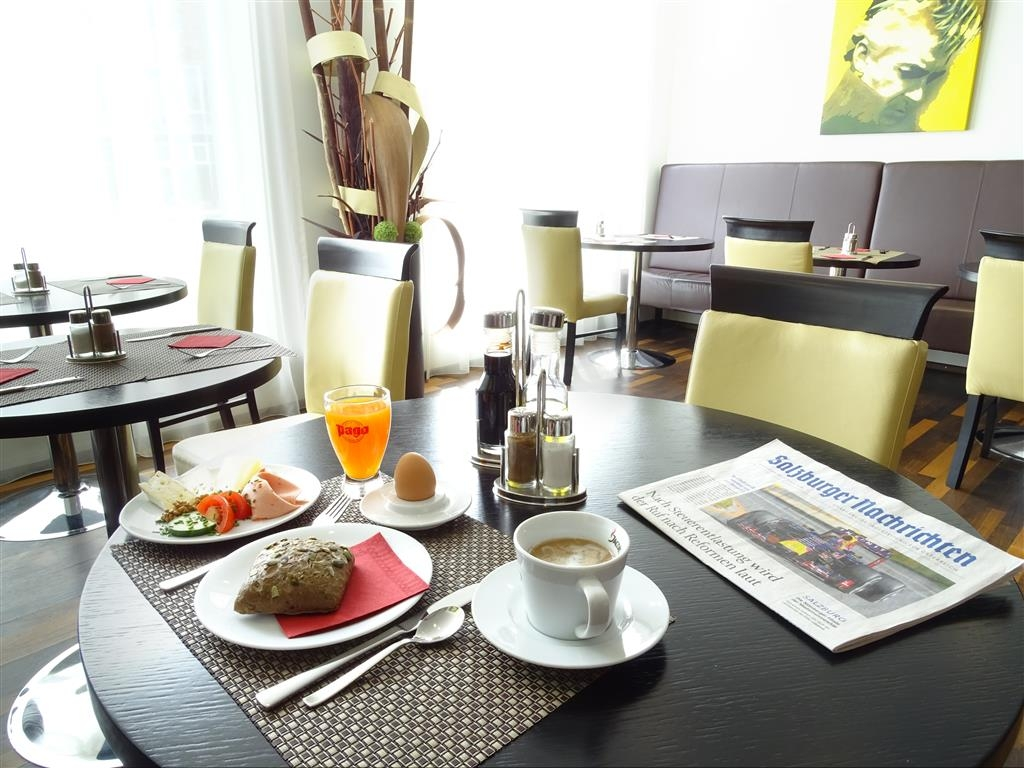 Best Western Plus Amedia Art Salzburg - Zona de desayunos