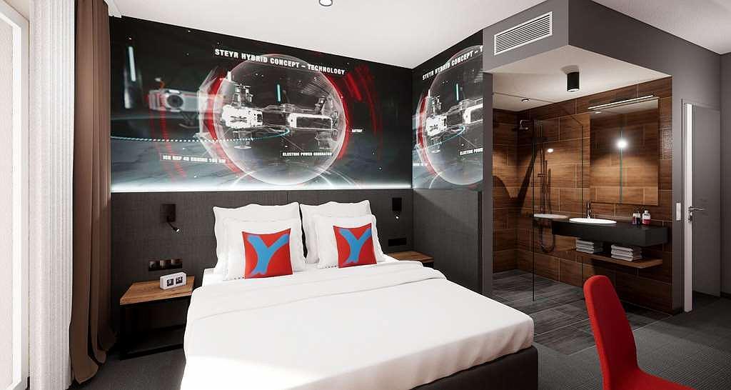 Aiden by Best Western @ Stadtgut Hotel Steyr - Chambres / Logements