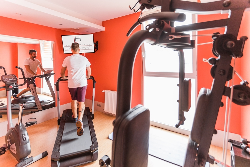 Best Western Plus Lakeside Hotel - Sala fitness