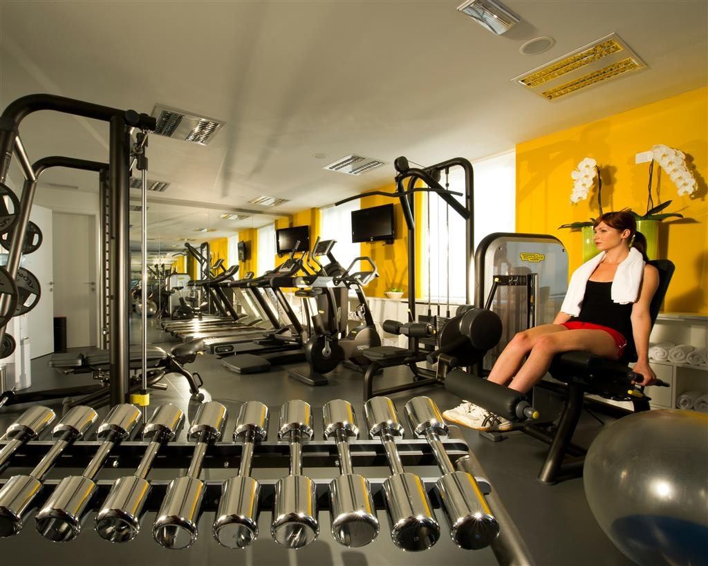Best Western Premier Hotel Slon - Fitness Center