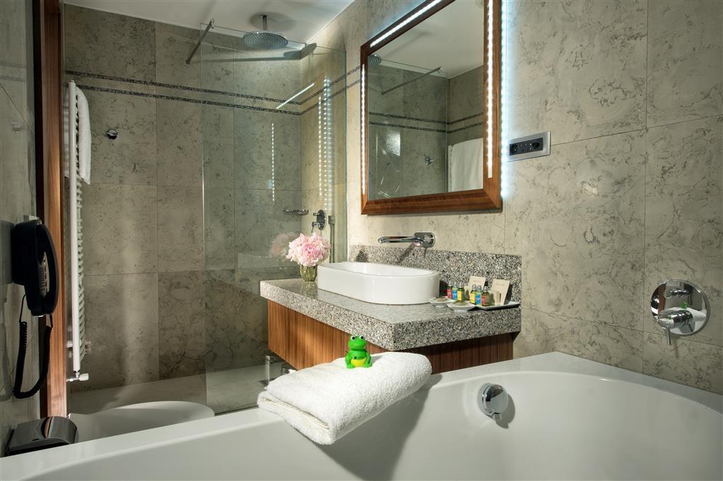 Best Western Premier Hotel Slon - Salle de bain