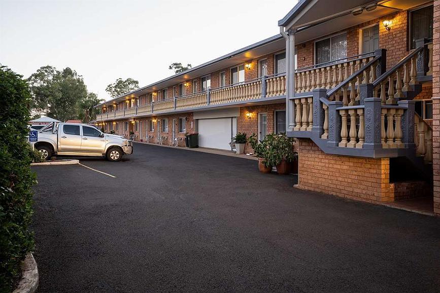 SureStay Hotel by Best Western Blue Diamond Motor Inn - Aussenansicht