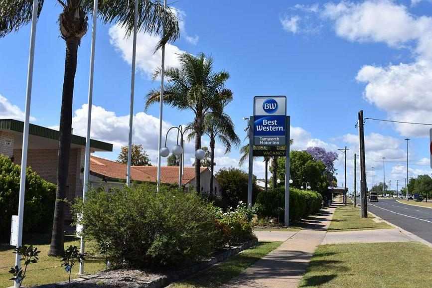 Hotel en Tamworth | Best Western Sanctuary Inn