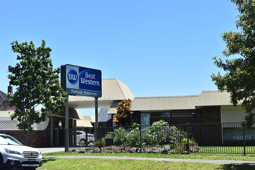 Best Western Parkside Motor Inn - Vue extérieure