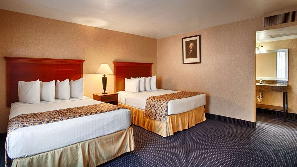 Best Western Pentagon Hotel - Reagan Airport - Two room suite with a king or two queen beds. The perfect place for a good nights' rest after a busy day!