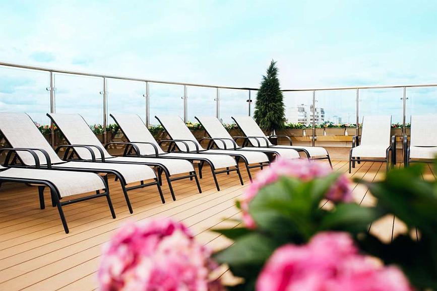 Best Western Russian Manchester Hotel - Rooftop Terrace
