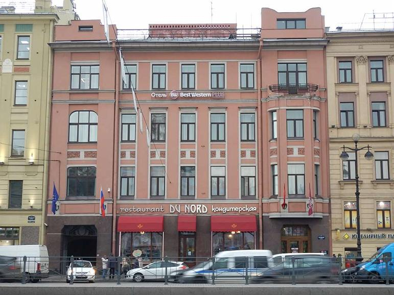 Best Western Plus Centre Hotel - Hotel Building