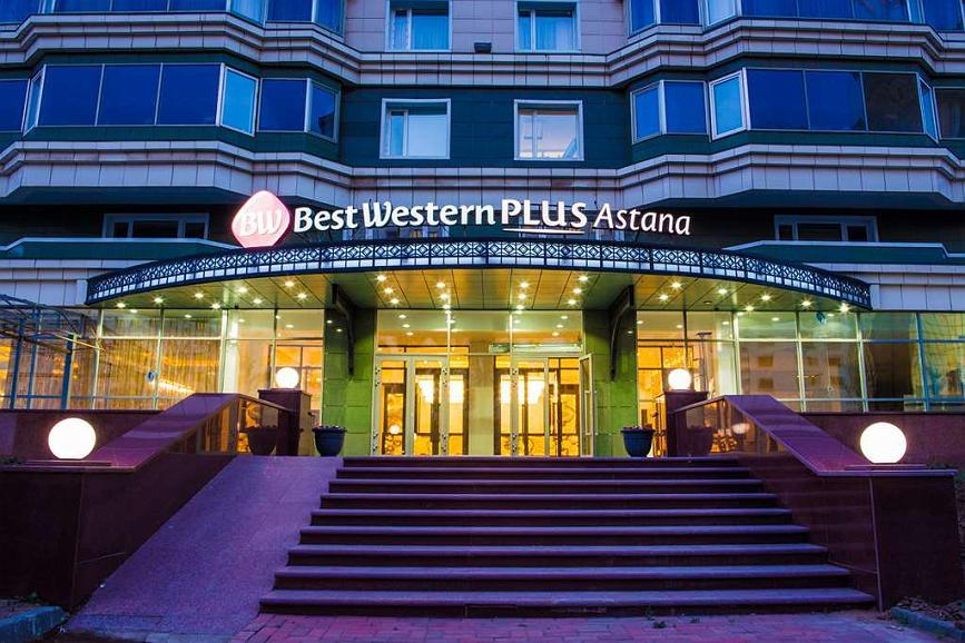 Best Western Plus Astana - Best Western Plus® Astana Entrance