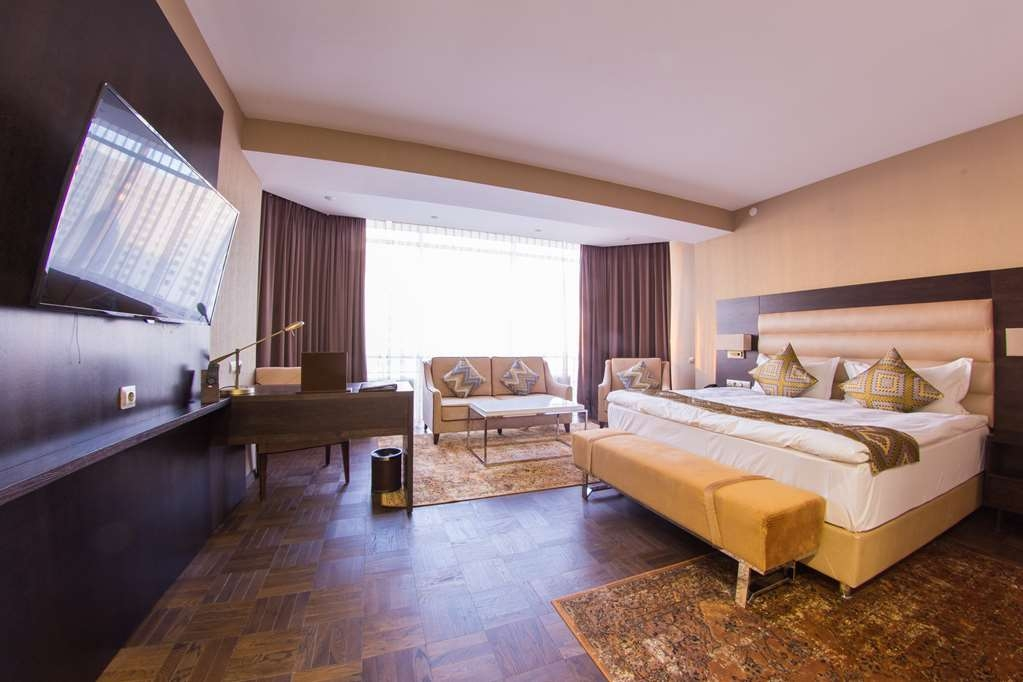 Best Western Plus Astana - Premium Guest Room with King Size Bed, Chair and Couch