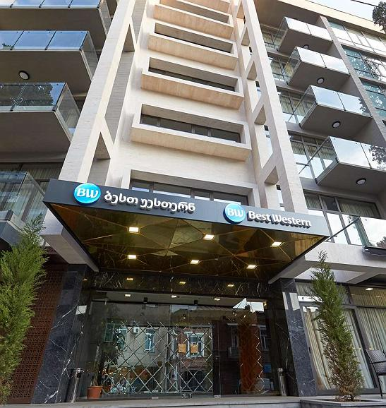 Best Western Tbilisi City Center - Area esterna