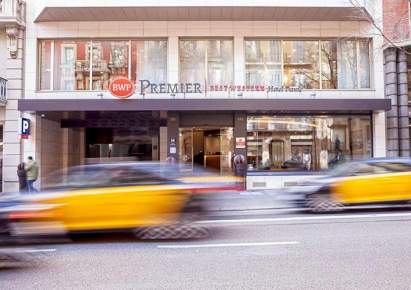 Best Western Premier Hotel Dante - Area esterna