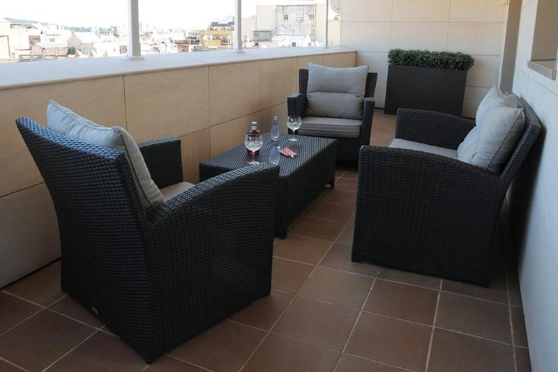 Best Western Premier Hotel Dante - After a long day, rest on the terrace of our suite and enjoy the views.