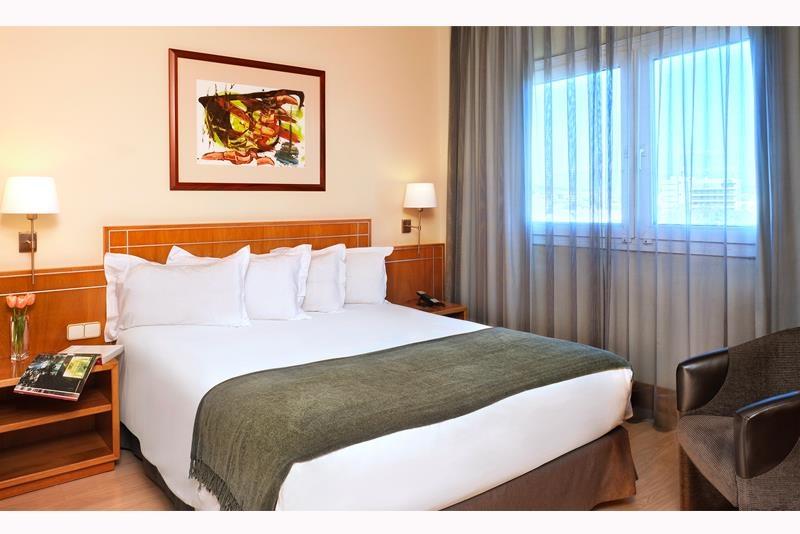 Best Western Plus Hotel Alfa Aeropuerto - Gästezimmer mit Doppelbett