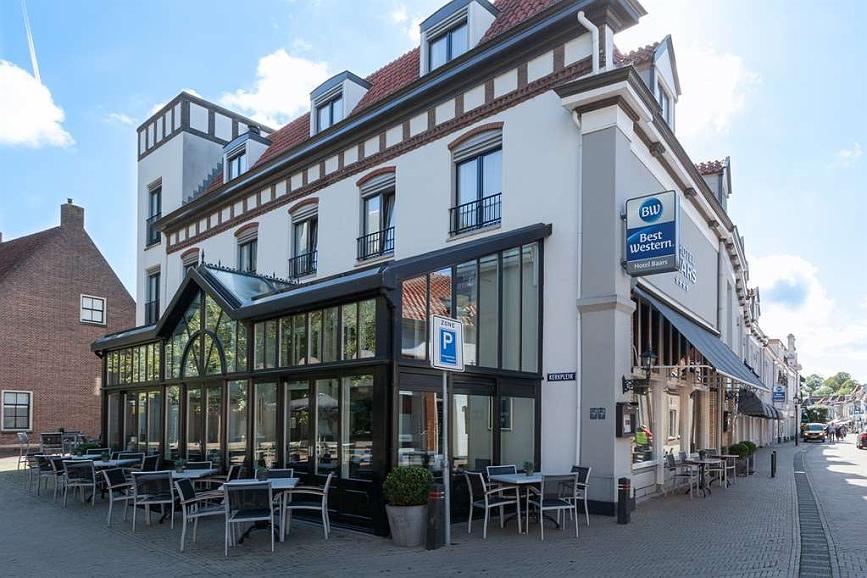 Best Western Hotel Baars - Terrasse