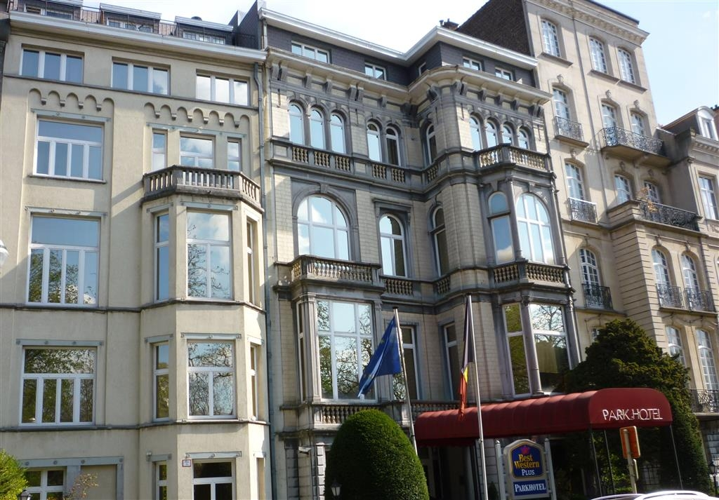 Best Western Plus Park Hotel Brussels - Facciata dell'albergo