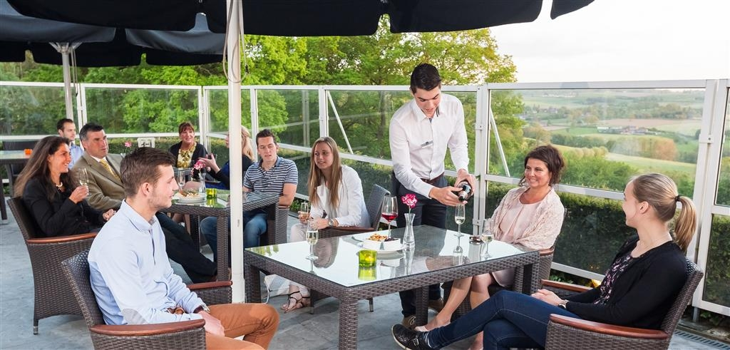 Best Western Hotel Slenaken - Terrasse