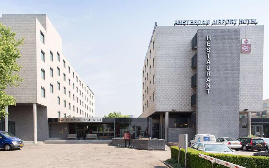 Best Western Plus Amsterdam Airport Hotel - Area esterna