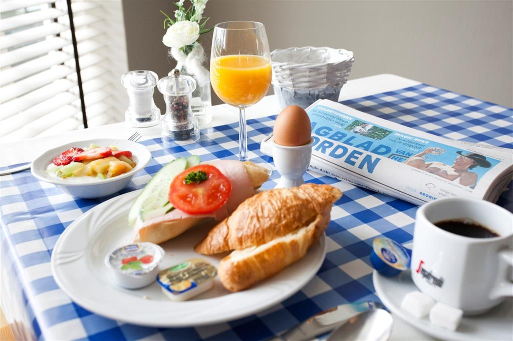 Best Western Plus Hotel Restaurant Aduard - Breakfast