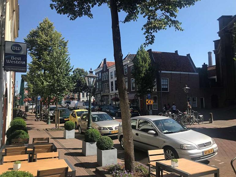 Best Western City Hotel Leiden - Façade